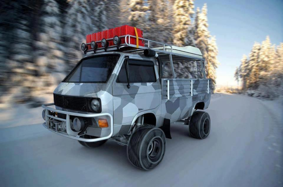 15 Incredible Off Road Vans That Will Make You Drool