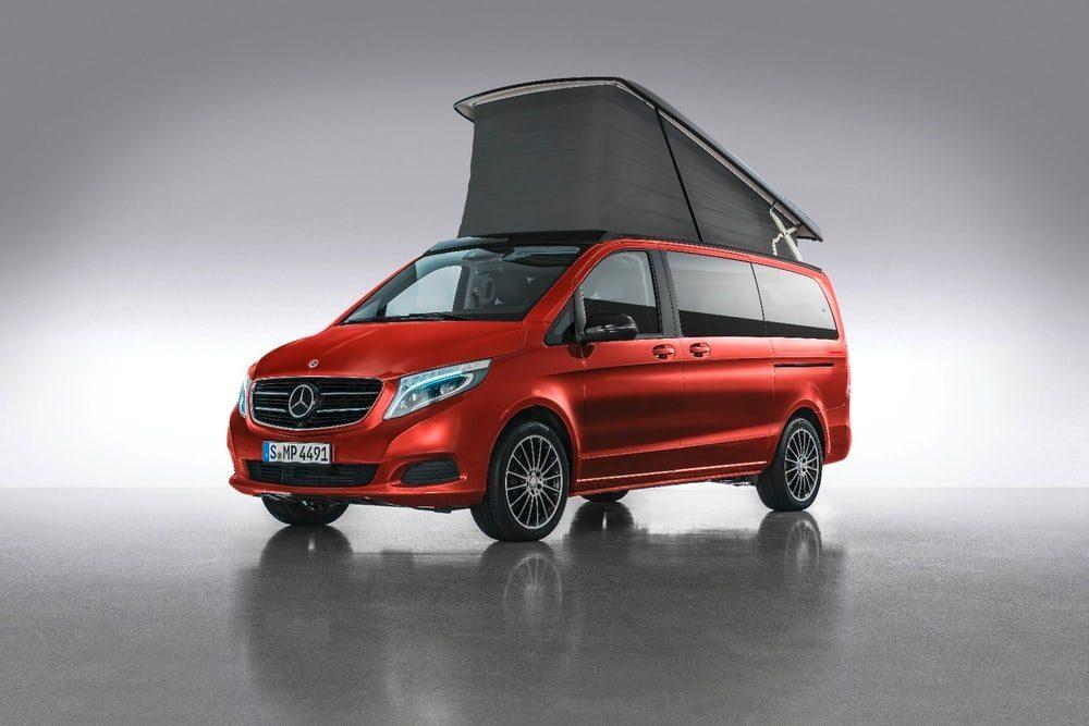 Mercedes Reveals Its New Westfalia Campervan Van Clan