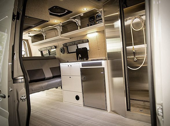 Incredible Custom Off-Grid 4x4 Mercedes Sprinter Conversion