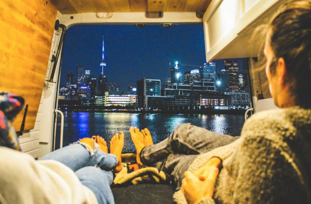 Canada views - Convert a van in 30 days