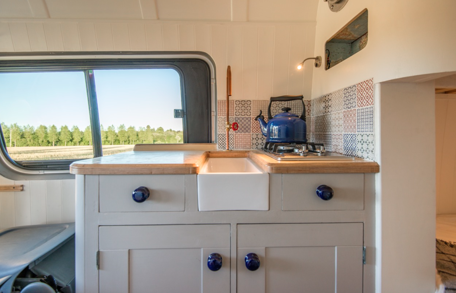 This Moving House Sprinter Conversion - Kitchen