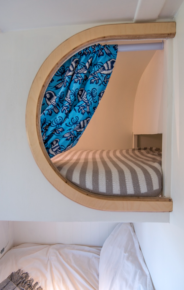 This Moving House Sprinter Conversion - Bedroom pod