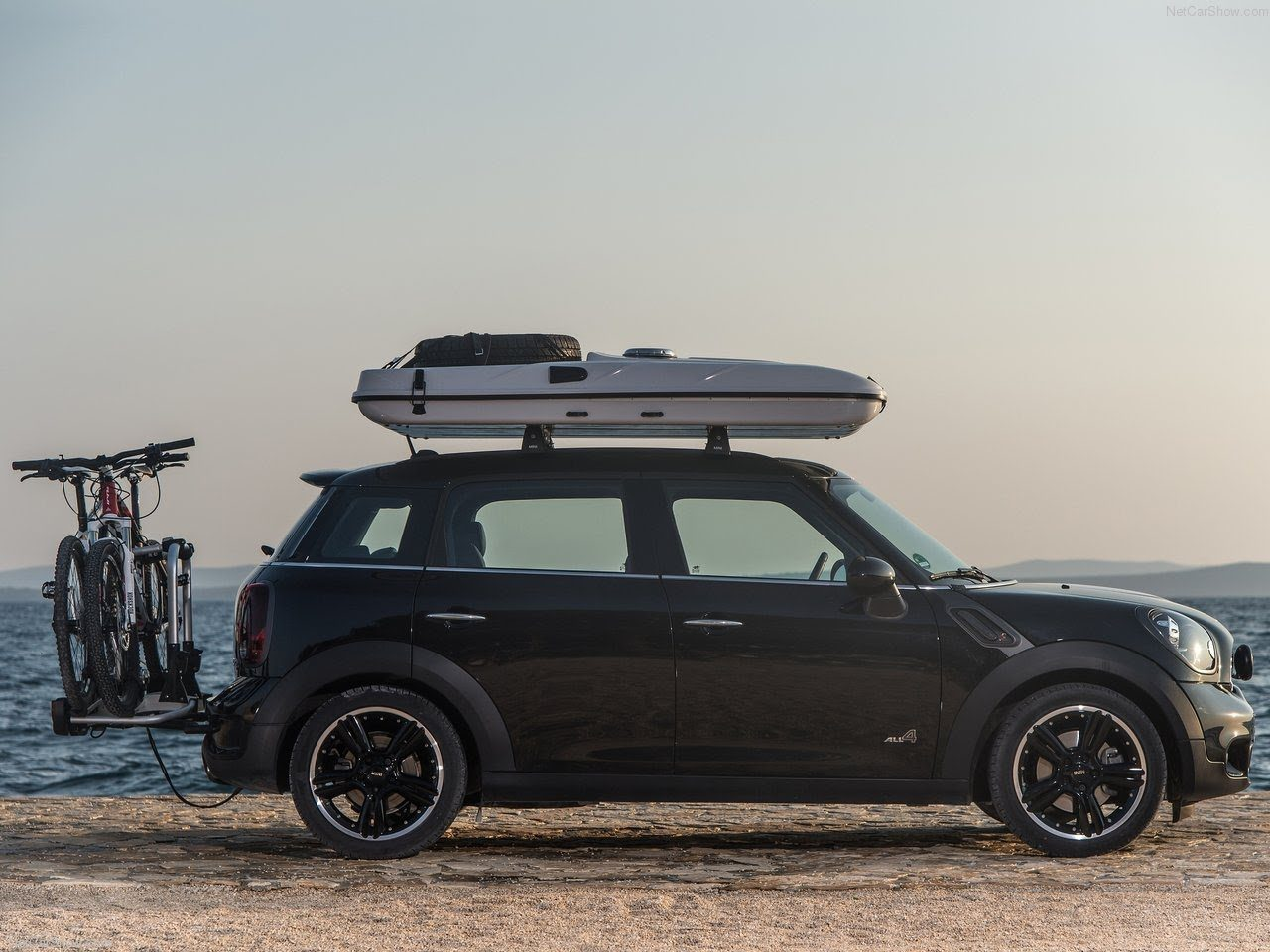 Size Doesn T Matter With The New Mini Cooper Roof Tent