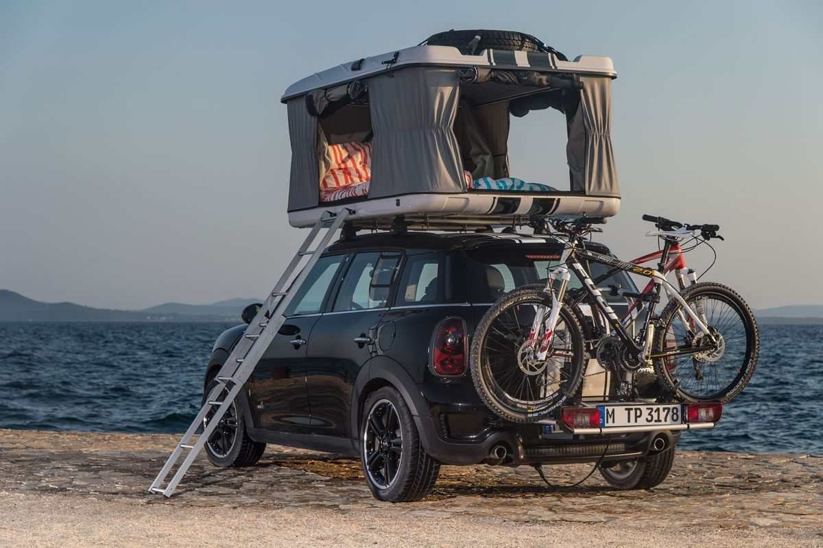Mini Countryman All4 C& Roof Tent - Rear & Size Doesnu0027t Matter With The New Mini Cooper Roof Tent!