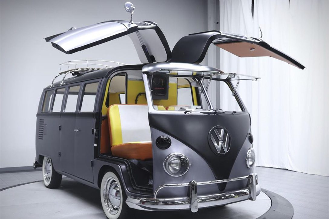 There's A Custom 'Back to the Future' Themed VW Bus