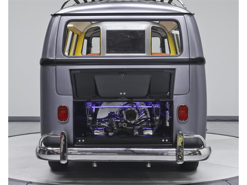 VW Bus Addict We Can See That It Has Been Incredibly Restored With A Reupholstered And Reworked Interior Pristine Condition Engine Rugged Roof