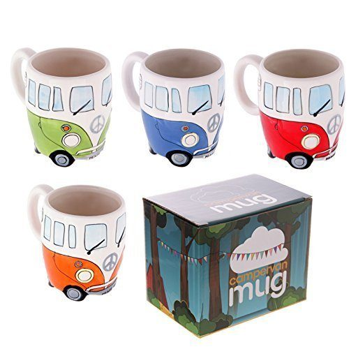 Campervan gifts - VW mugs