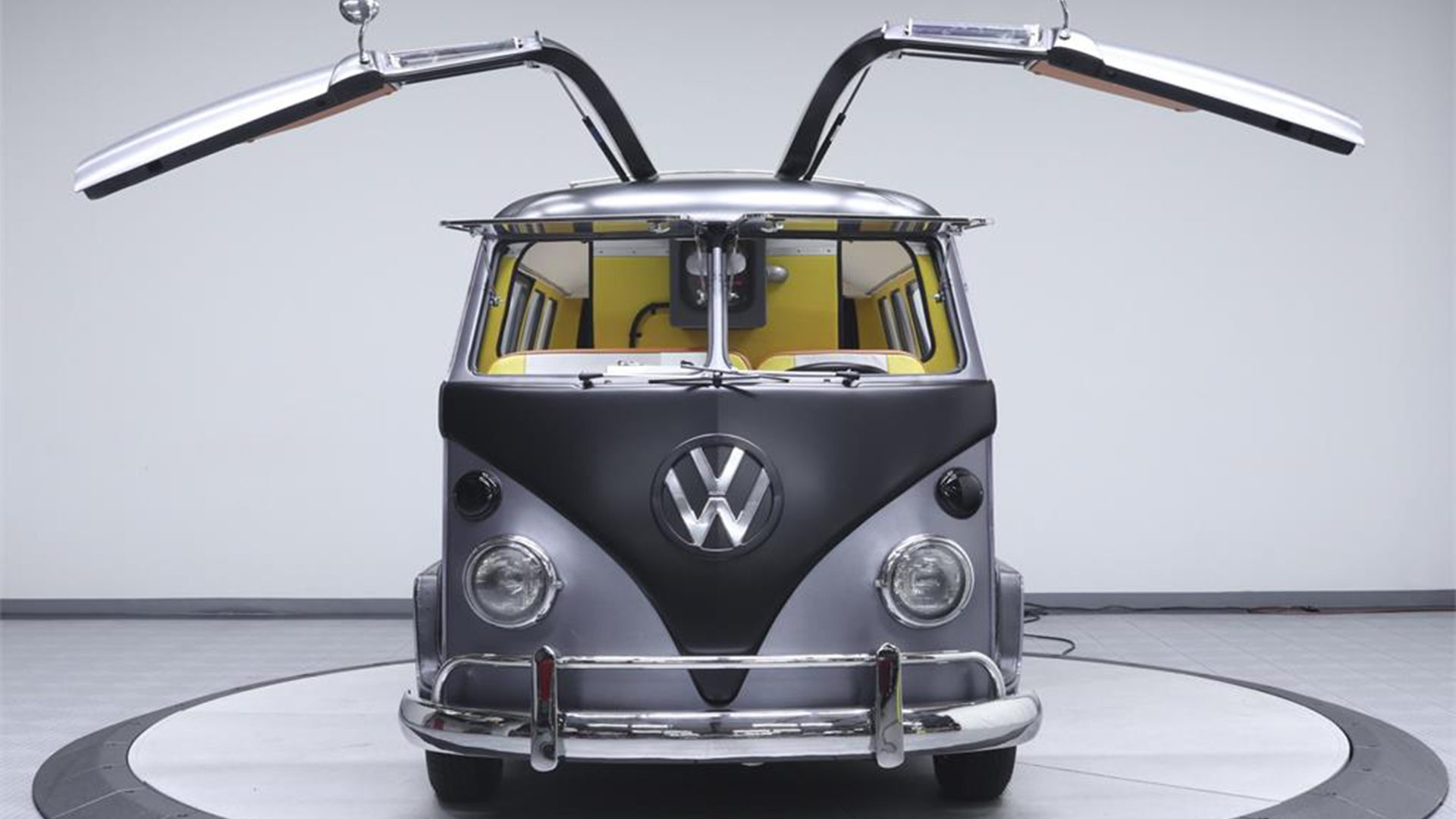 Theres A Custom Back To The Future Themed VW Bus