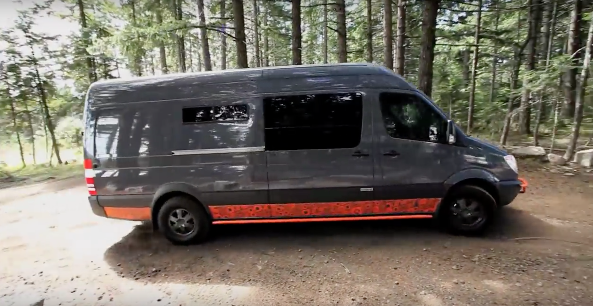 A Sprinter Conversion Built For Mountain Bike Addicts