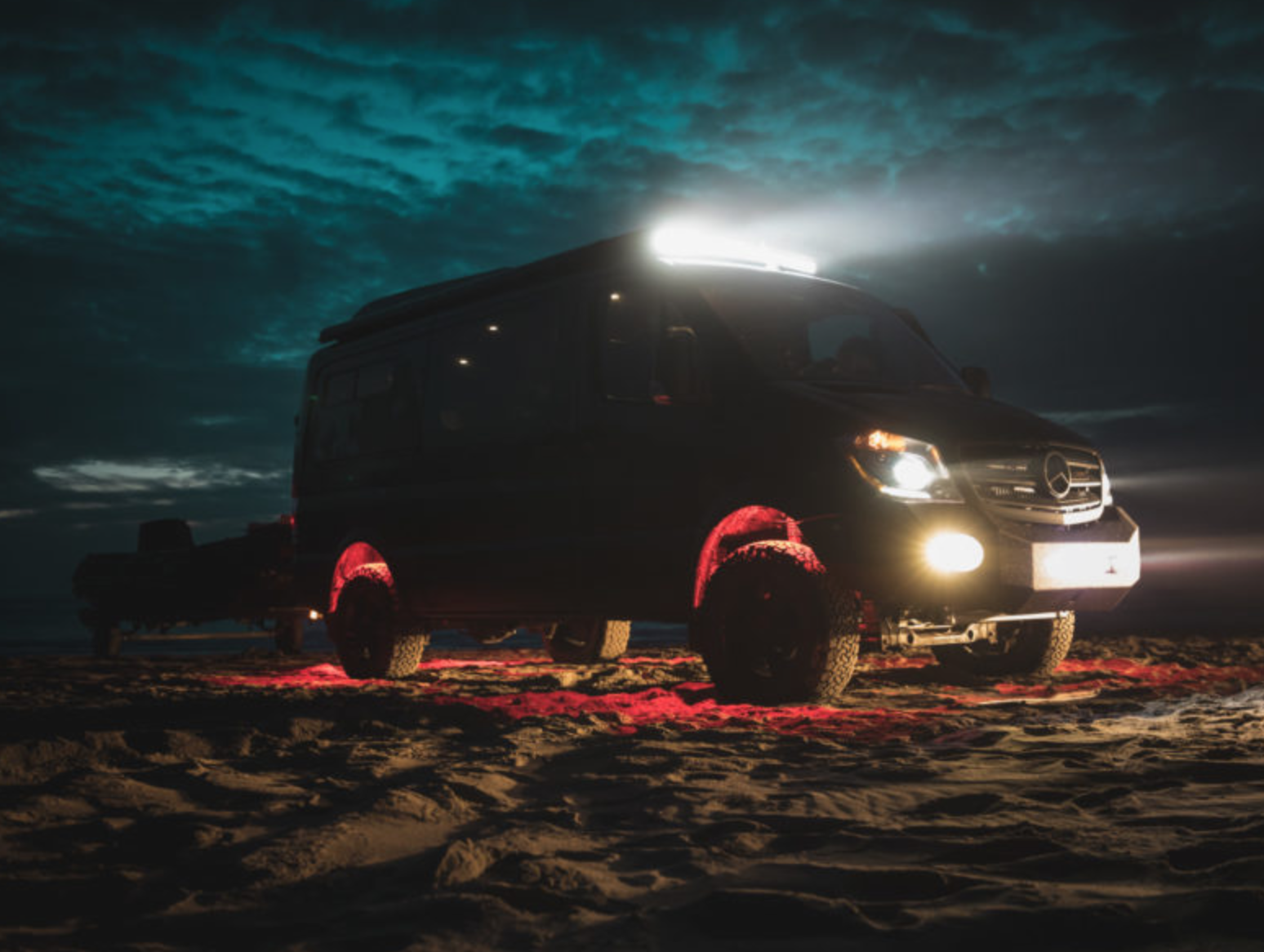 Mercedes Sprinter Conversions - Darkstar night