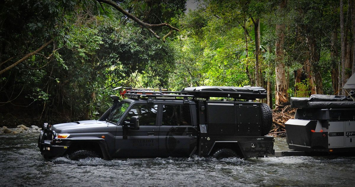 Patriot Campers - Action Shot