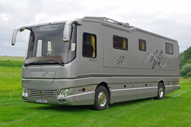Luxury Motorhome - Full shot