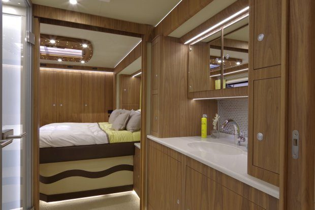 Luxury Motorhome - Bathroom