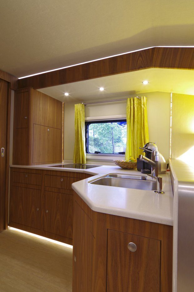 Luxury Motorhome - Kitchen