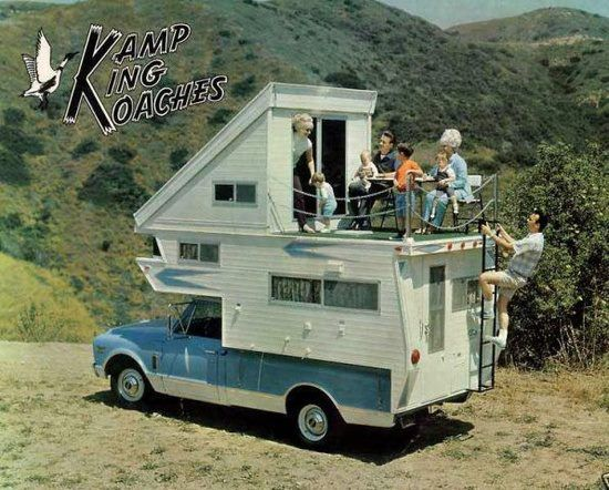 Truck Campers - Balcony