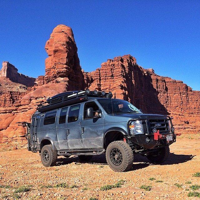 Custom Camper Vans - Desert