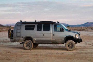 Custom Camper Vans - Front Image