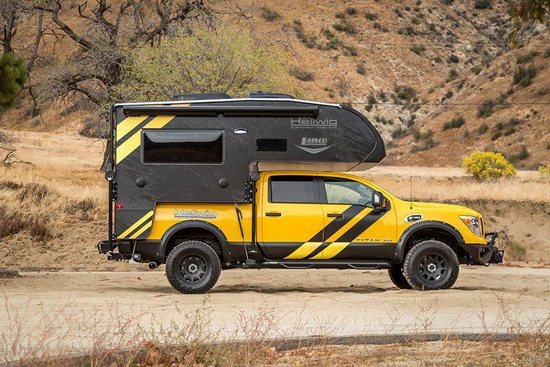 Overland Nissan Titan XD - side shot