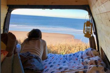 Van Life - Beach feature image
