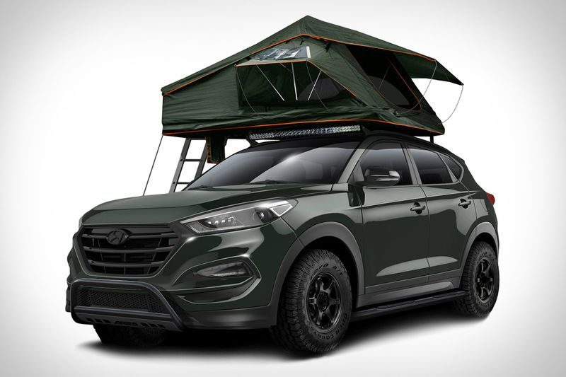 The Hyundia Tucson Adventure Mobile