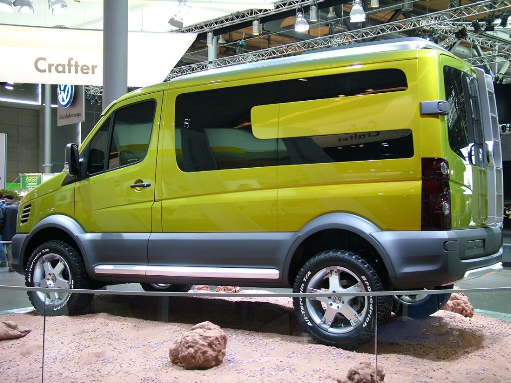 VW Crafter Atacama Is A 4WD Land Ship of Your Dreams