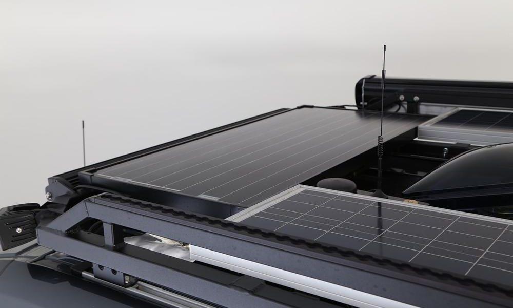 Mercedes Benz Sawtooth - Solar