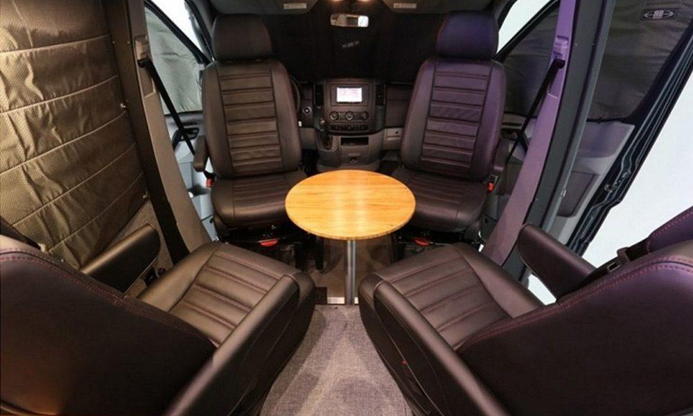 Mercedes Benz Sawtooth - Seats