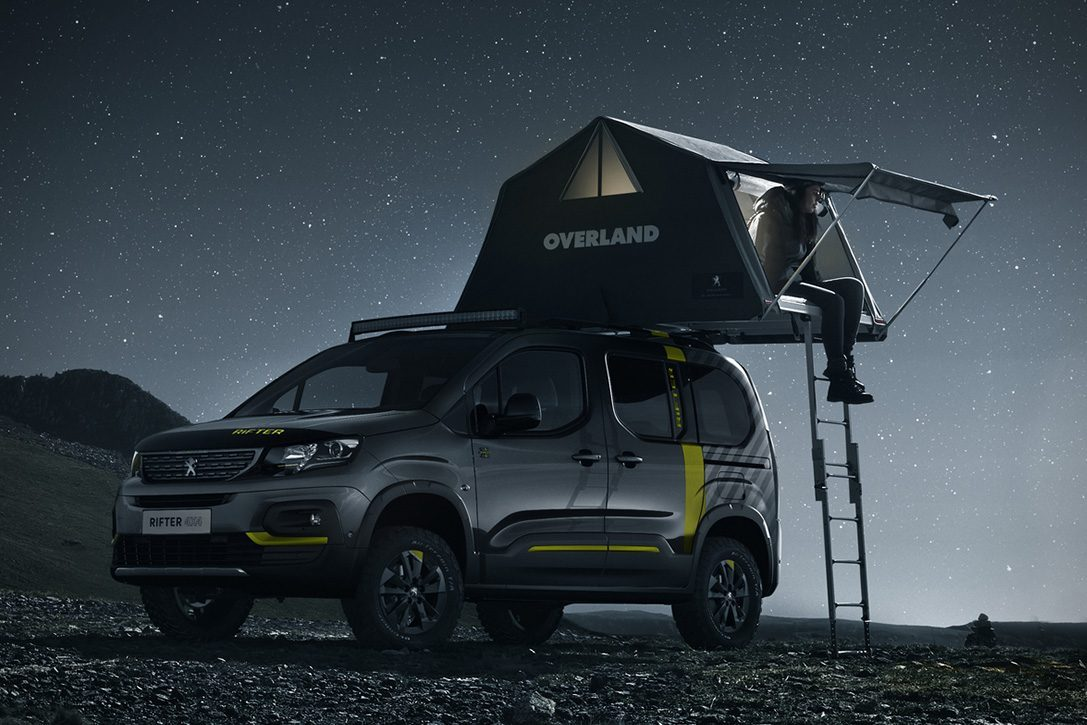 Peugeot Just Revealed Its All New Heroic 4x4 Rifter