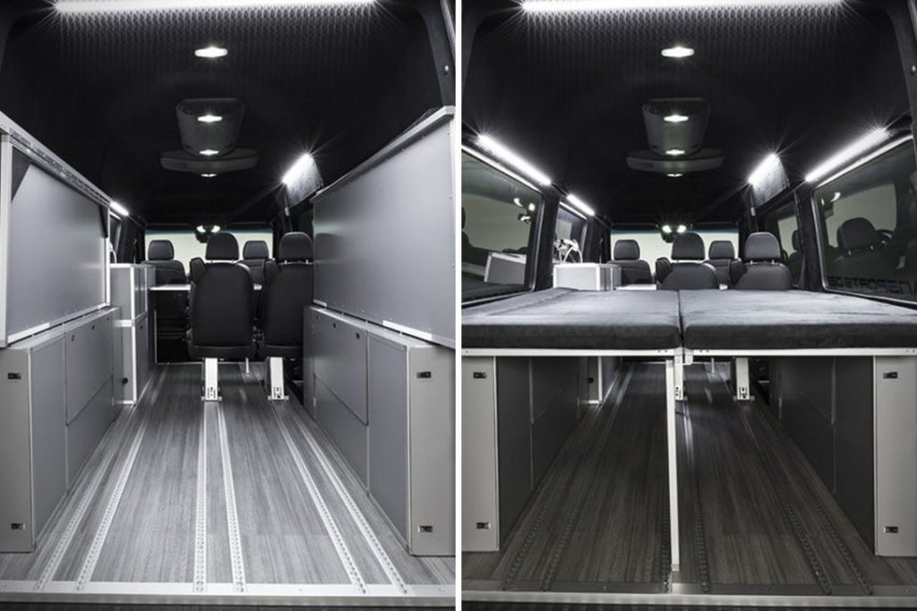 Mercedes Sprinter Vansports Camper - interior