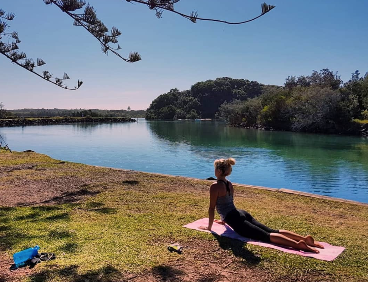 Van Life Australia - Belle Yoga River