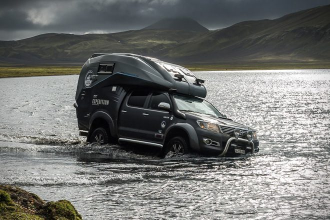 Toyota Hilux Expedition Camper