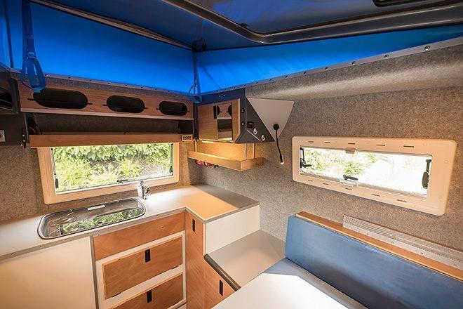 Toyota Hilux Expedition V1 Camper inside