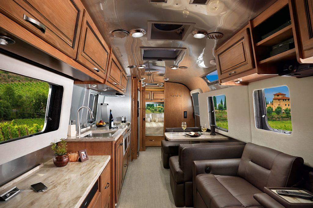 Airstream Trailer - Inside