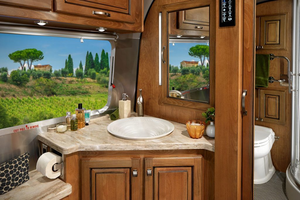 Airstream Trailer - sink