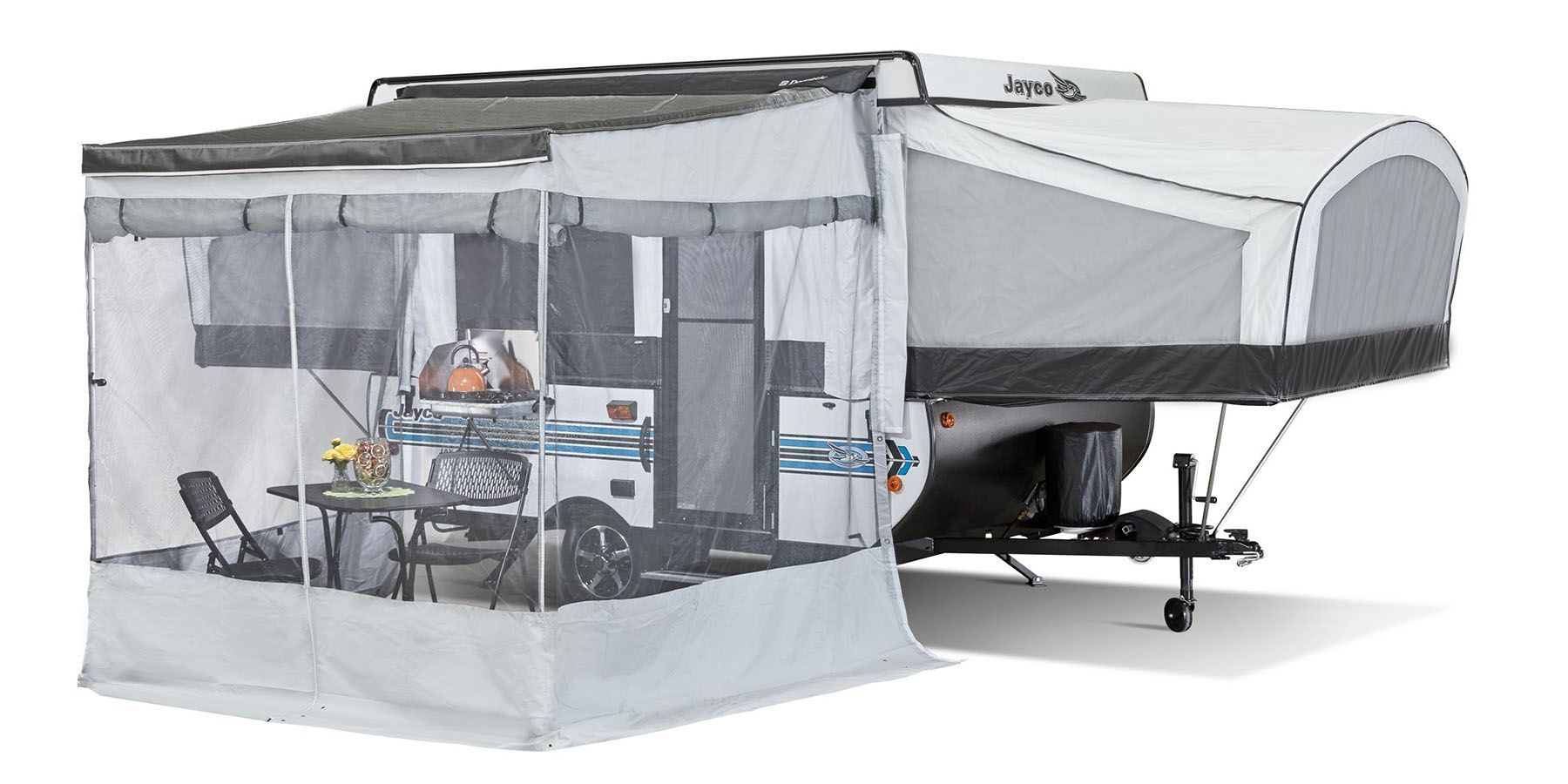 Pop Up Campers - jay sport awning
