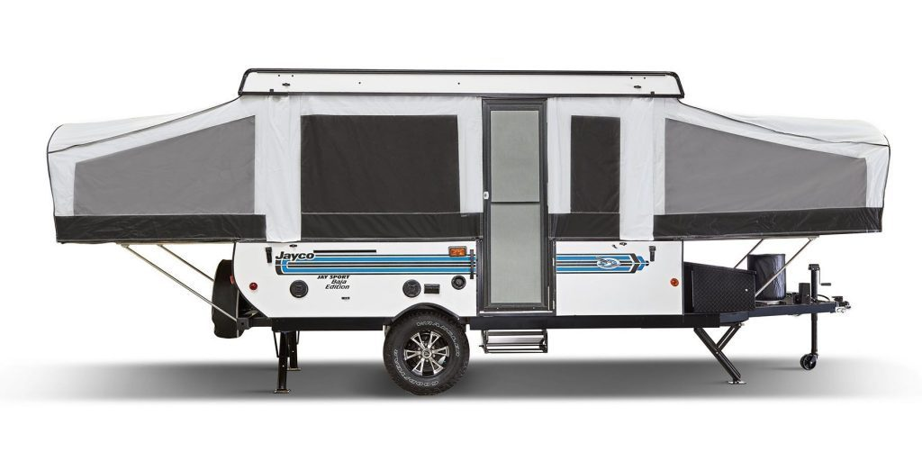 Pop Up Campers - jay sport front