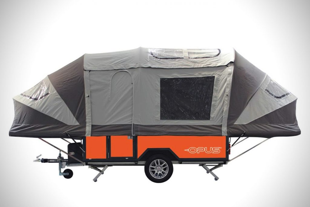 Pop Up Campers - opus front tent trailers