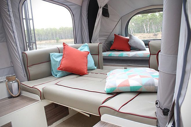 Pop Up Campers - opus seating
