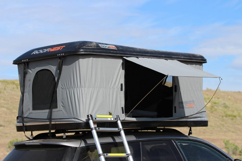 Pop Up Campers - sparrow front