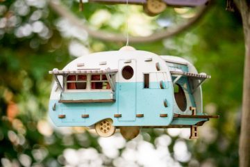 Camper Bird House