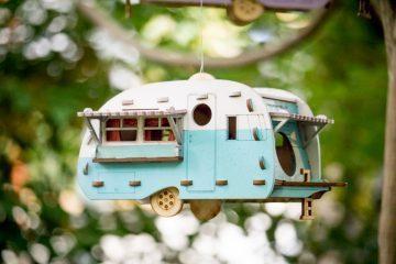 Camper Bird House
