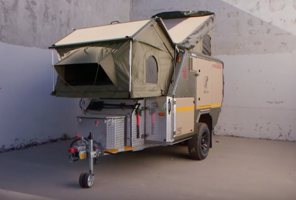 Pop Up Campers - conquer overland compact