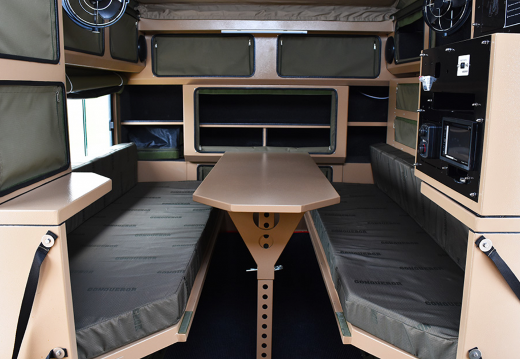 Pop Up Campers - conquer overland inside