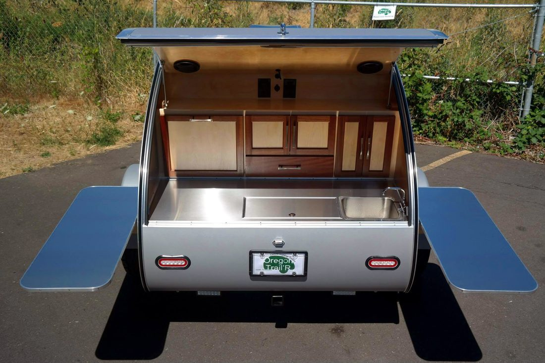 Teardrop Camper - Sink