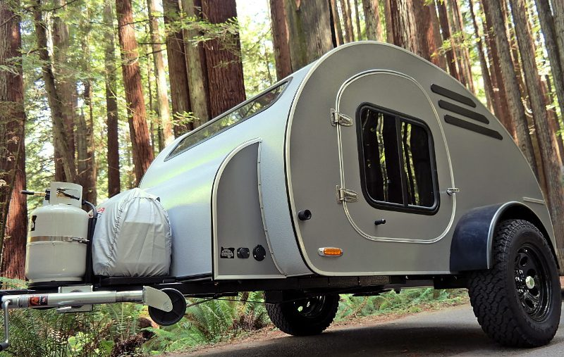 Teardrop Camper - Park up