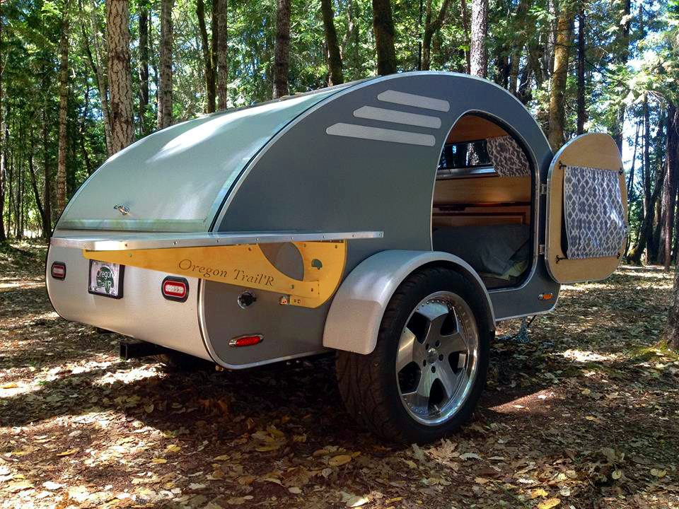 Teardrop Camper - Forest