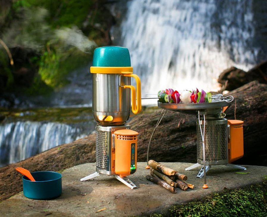 BioLite CampStove - Cooking