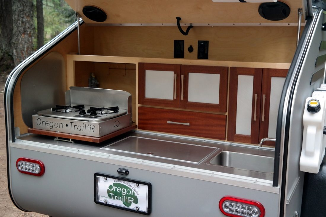 Teardrop Camper - Cooker