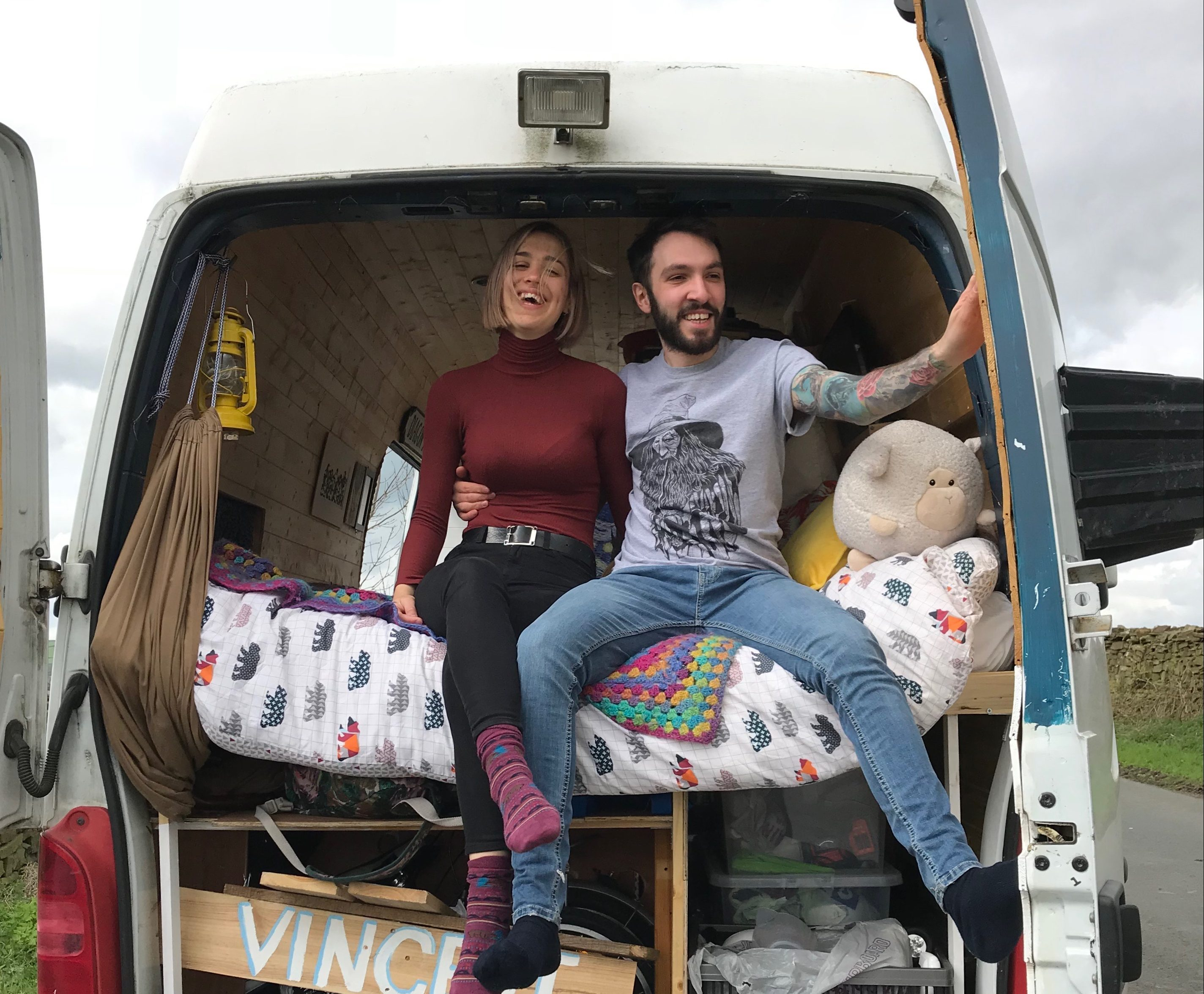 Living In A Van - Rose & Seb
