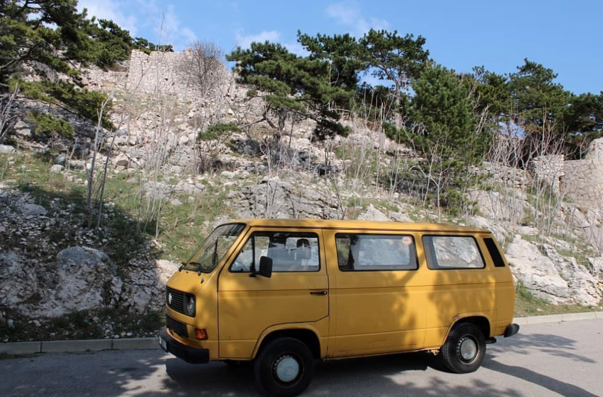 Van Life Croatia - VW